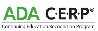 American Dental Association Continued Education Recognition Program Logo