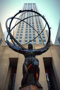 Rockefeller Center is classic NYC and not far from New Jersey.