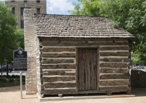 Visit a historical cabin recreation in Dallas, Texas with CMS