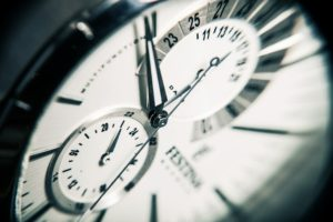Time management for big dental cases.