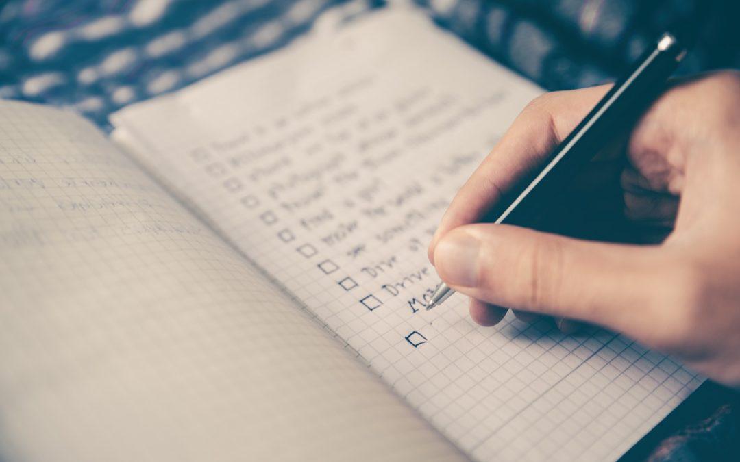 checklist dental practice productivity